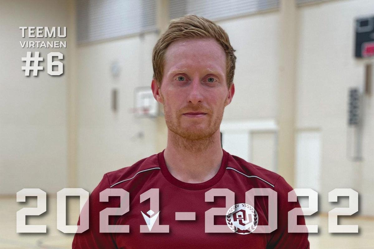 Uusi pelaaja - Teemu Virtanen